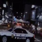 警視庁のパトカー緊急走行