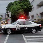 【沼津警察】パトカー 緊急走行