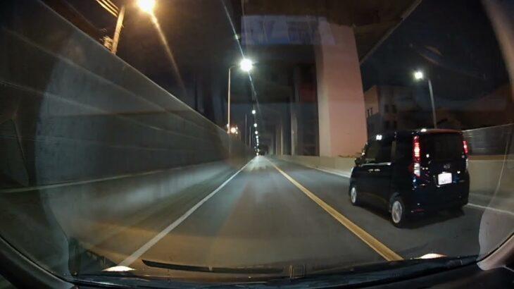 (あおり運転 進路妨害)夜に駆ける 和泉111