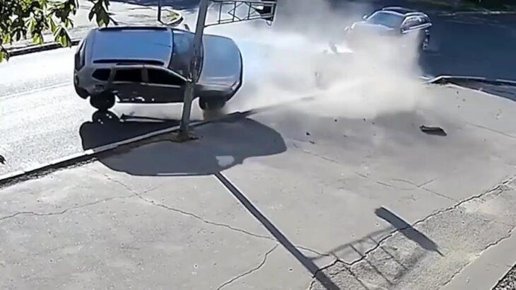 【ドラレコ】事故の衝撃映像連発!!大クラッシュ!ヒヤリハット・煽り運転・危険運転まとめ #6