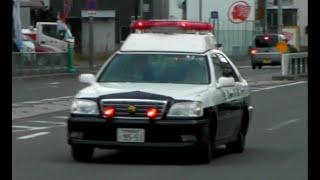 パトカー緊急走行【74】大阪府警 堺警察署 170系クラウンパトカー【Japanese Police car】