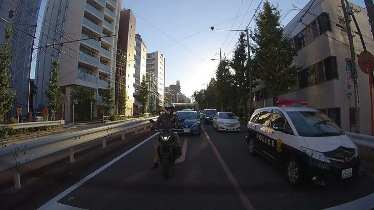 エスティマパトカー緊急走行 Estima police car emergency driving