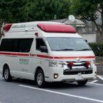 東京消防庁 千駄ヶ谷駅前 救急車緊急走行 Tokyo Fire Department ambulance emergency run in front of Sendagaya Station