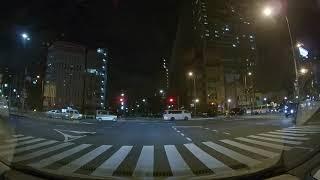 覆面パトカー緊急走行 Undercover police car on an emergency run