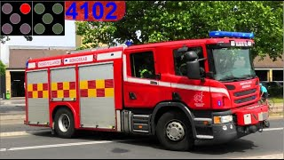 nordjyllands beredskab ABA ÅLBORG UNIVERSITET brandbil i udrykning firetruck respond 緊急走行 消防車