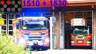 räddningstjänsten storgöteborg ST.ANGERED SJUKVÅRDSLARM brandbil i utryckning 緊急走行 消防車