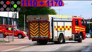 räddningstjänsten storgöteborg ST.FRÖLUNDA RÖKLUKT brandbil i utryckning fire truck respond 緊急走行 消防車