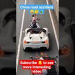 road accident in China あおり運転 フェラーリvs原付 関西##shorts