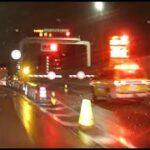 山手トンネルのバーが降ろされ盛大に通行止め!雨の日は交通事故が5倍に激増する首都高のリアルな現実!ドラレコ