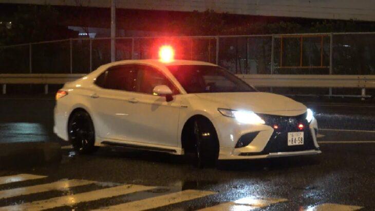控えめに言って最高だった覆面カムリ取締りの瞬間!訪日外国人&外国人ドライバー向け英語のパトサイン!
