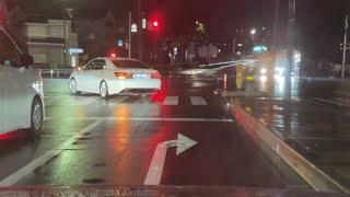 【覆面パトカー】白アスによる取り締まり〜熱い緊急走行!