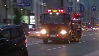 【緊急走行集】昭和・平成に活躍した消防車、救急車たち(消防車・救急車・ドクターカー)