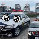 パトカー・消防車・救急車の緊急走行を目撃せよ! ポンプ車はお友達を紹介してくれるよ。しゃべる車の第二弾 はたらくくるま 実写 踏切を通過する救急車もあるよ!パトカーは赤信号を無視するよ!
