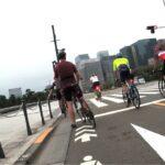 皇居周辺の自転車の信号無視・悪質、危険運転、あおり運転