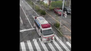 アクティビーコン搭載救急車緊急走行