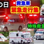 【救急の日】救急車緊急走行集! 特殊救急車も!