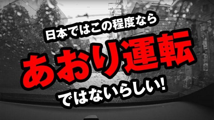 日本ではこのぐらいはあおり運転ではないと警察は言っている!ということはこのぐらいやっても大丈夫みたいことかもしれません。