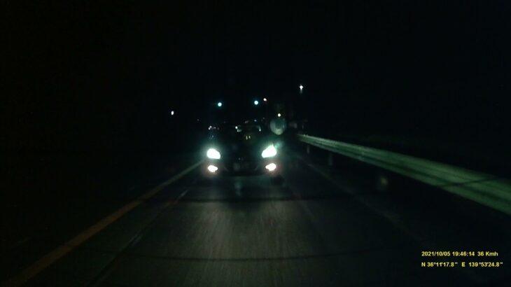 あおり運転(春日部 331 や 73-37)と赤信号無視2台 茨城県八千代町 国道125号 八千代高校入口交差点 茨城ダッシュ
