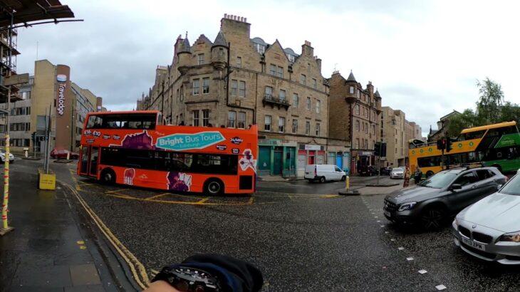 スコットランドの救急車(音量注意)360度4K 試撮