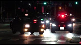 制限速度40㌔道路を〇〇㌔で走行したタクシー運転手が覆面パトカーに捕まる瞬間!交機さんの停止命令が非常に聞き取りやすかった取締り