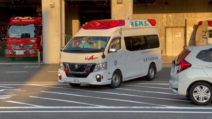 (4K対応)救急車緊急走行(10)