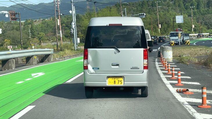 微妙な煽り運転をする軽 [京都581つ・875]