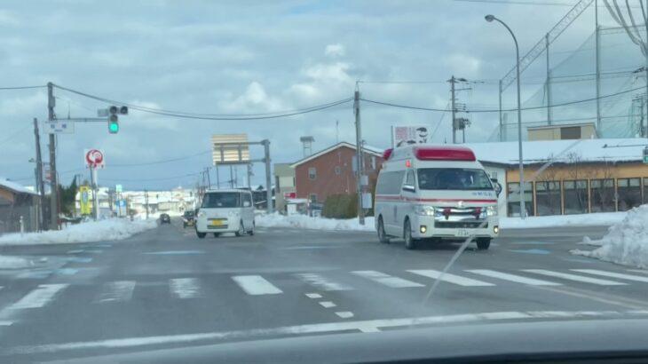 新潟市消防局 救急車 緊急走行 Niigata City Fire Department Ambulance Emergency Drive