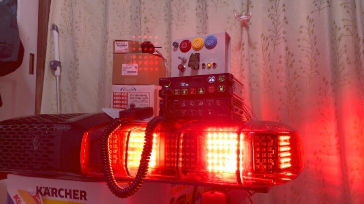 【最新】大阪サイレン社《OPS-D151YQ》Mk-D1  〜音声合成編〜 救急車両用電子式サイレンアンプ