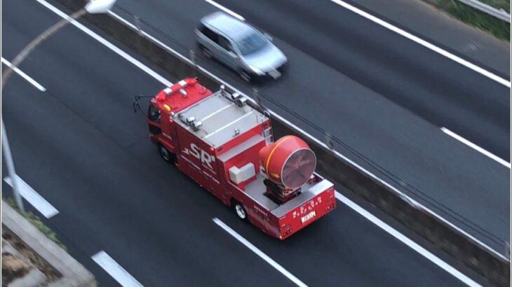 【緊急走行】【SR】機動第一救助工作車と特別高度工作車