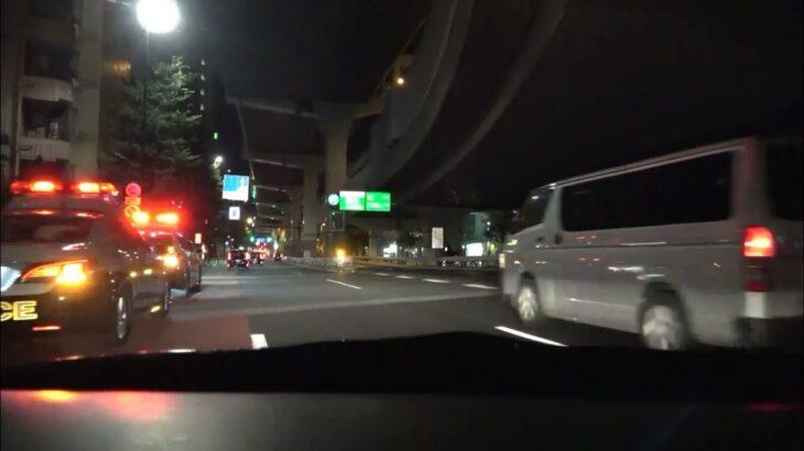 【緊急走行】Tokyo 宣言解除後の週末 緊急走行4コマ