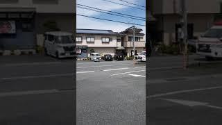 下関市北消防署      救急車緊急走行