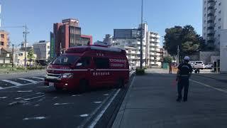 【緊急走行】高速道路にて支援救急入電!指揮車緊急出動! 豊橋市消防本部