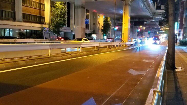 【東京消防庁】夜の火災現場に補給車が到着!迫力ある緊急走行!!
