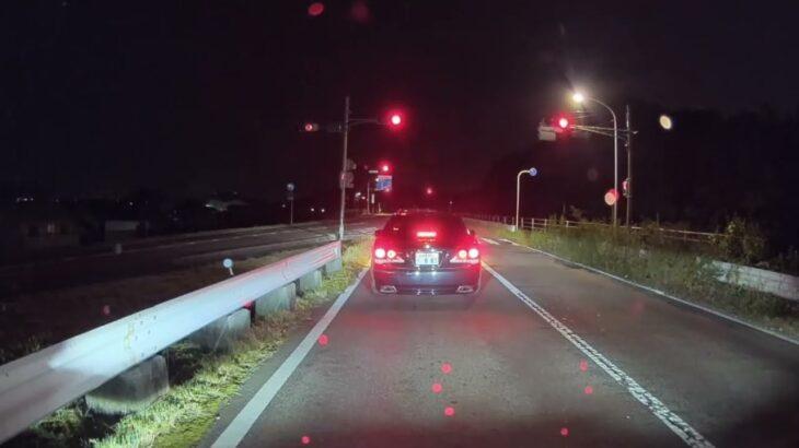【ドラレコ】煽り運転からの信号無視!そして・・・